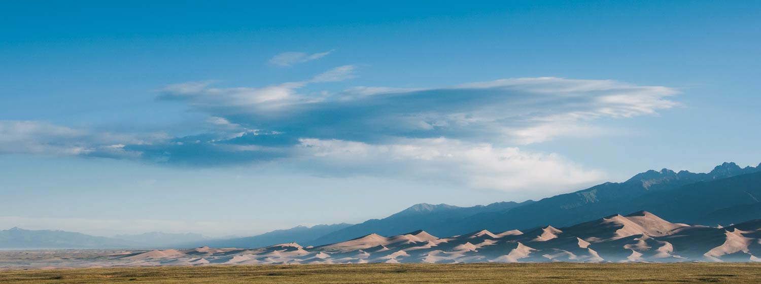 USA, Great Sand Dunes National Park